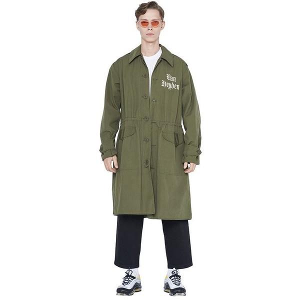 Van Hoyden Płaszcz wojskowy Vintage model Langusta