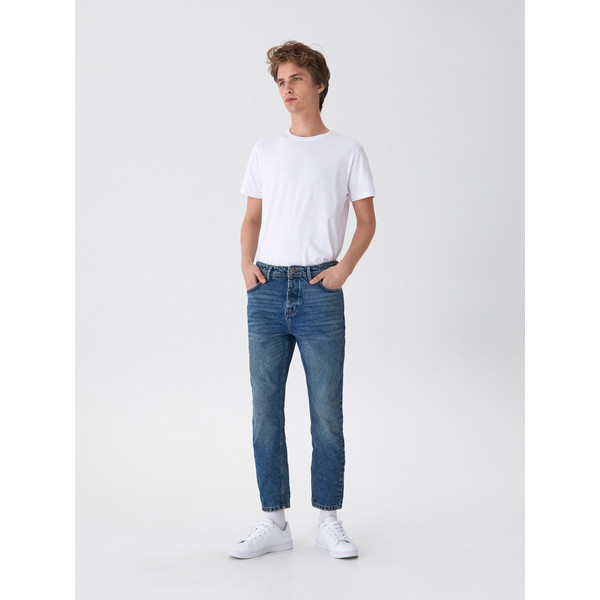 House Denimowe spodnie carrot XZ437-55J