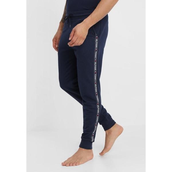 Tommy Hilfiger TRACK PANT Spodnie od piżamy blue TO182L00B