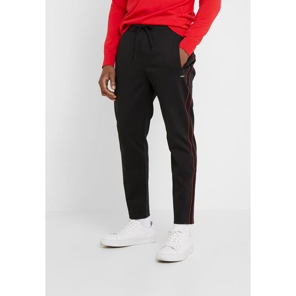 HUGO DAVEL Spodnie materiałowe black HU722E04I