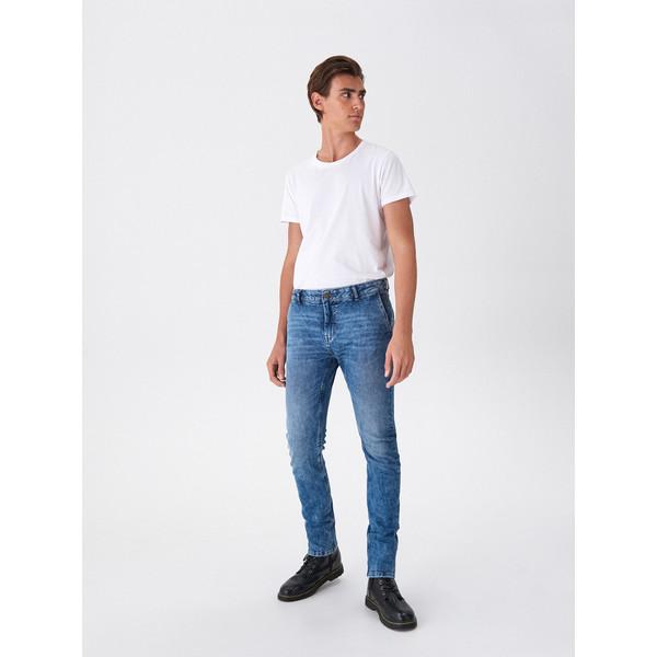 House Jeansowe spodnie chino XN435-55J