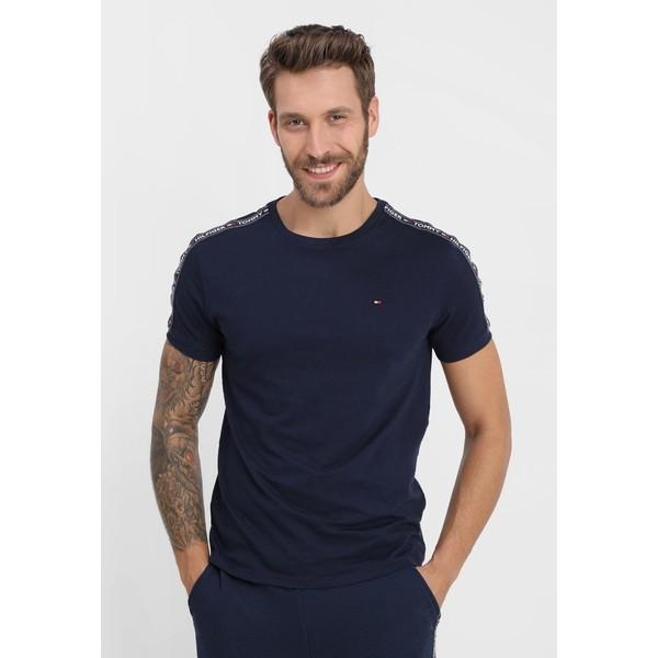 Tommy Hilfiger TEE Koszulka do spania blue TO182N00B