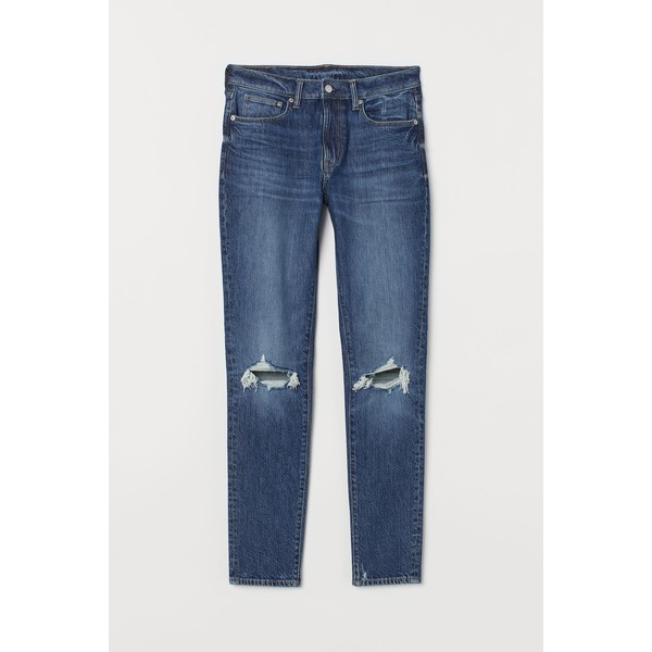 H&M Skinny Jeans 0690449036 Niebieski denim/Trashed
