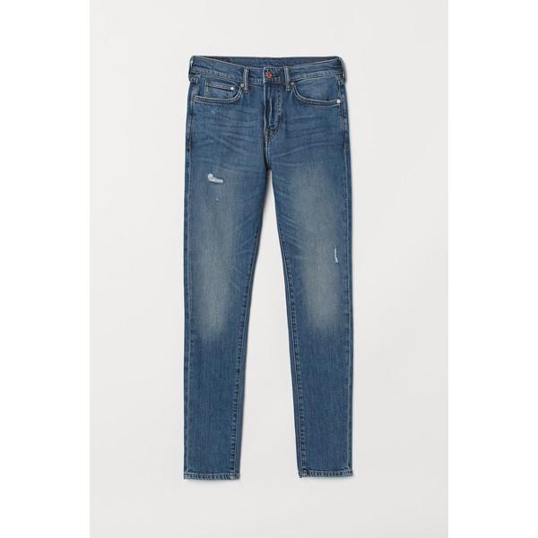 H&M Skinny Jeans 0690449036 Niebieski denim