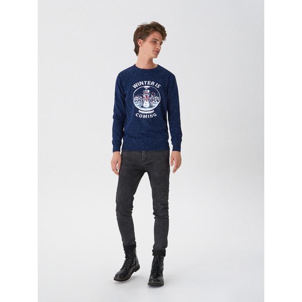 House Sweter z zimowym motywem WV291-59X