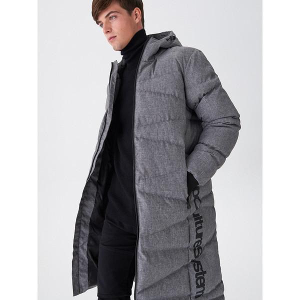 House Pikowany płaszcz z kapturem WY596-90M