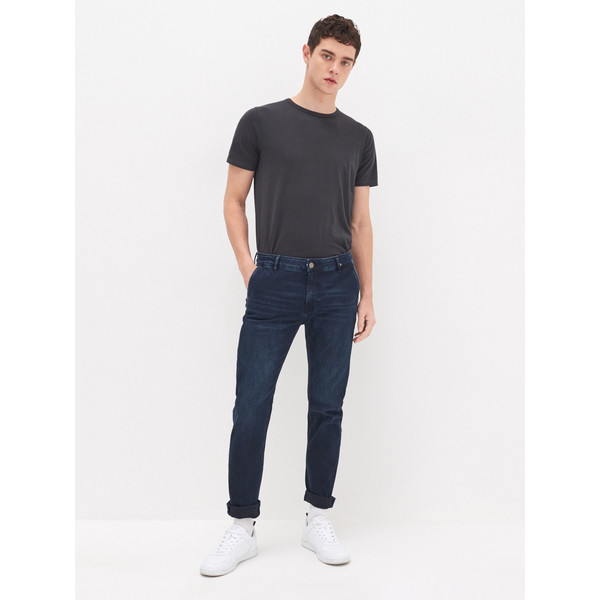 House Jeansowe spodnie chino YB703-59J