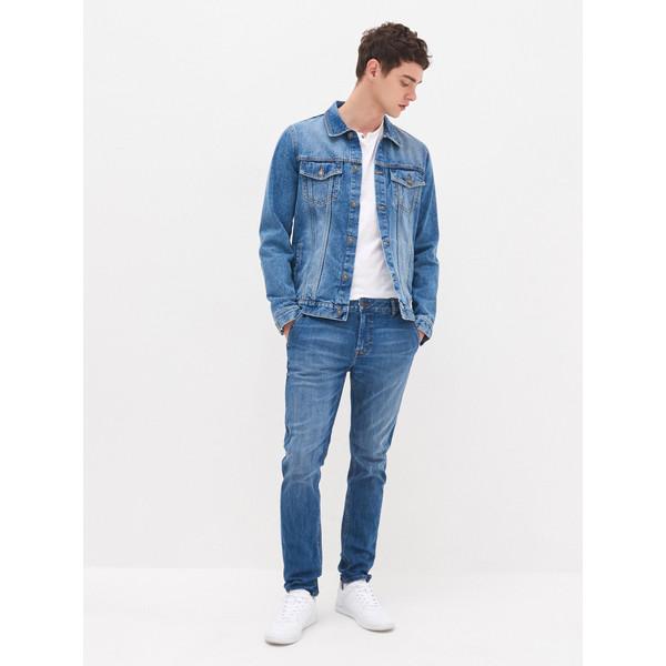 House Jeansowe spodnie chino YB703-55J