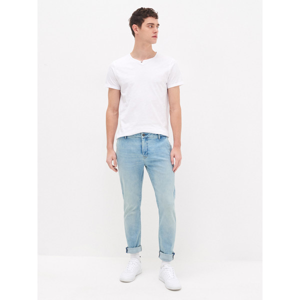 House Jeansowe spodnie chino YB703-50J