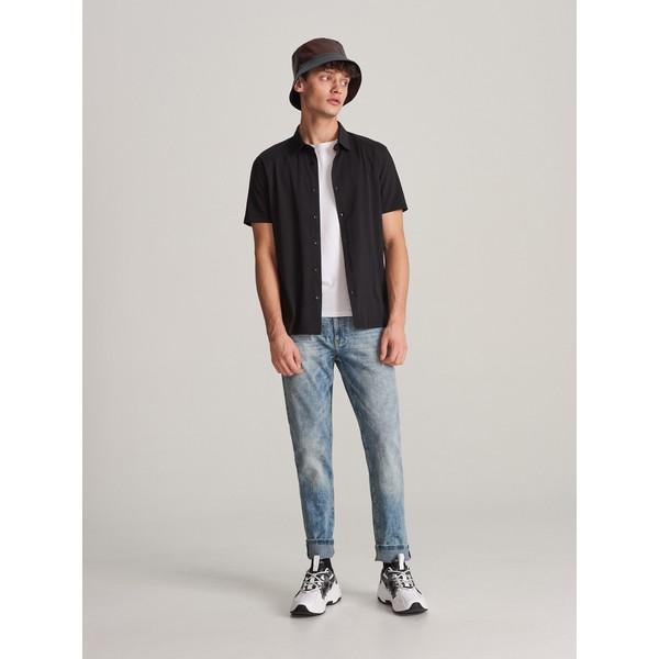 Reserved Spodnie jeansowe slim XJ166-55J