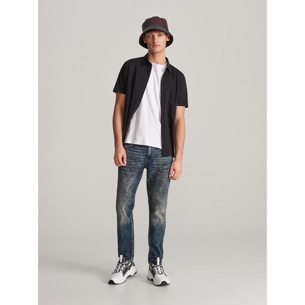 Reserved Spodnie jeansowe slim XJ166-59J