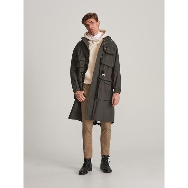 Reserved Spodnie z bawełny organicznej XL738-88P
