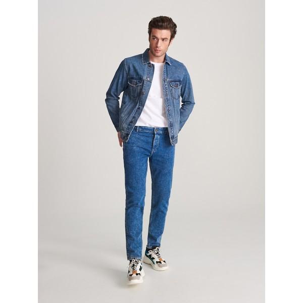 Reserved Spodnie jeansowe slim XN077-55J