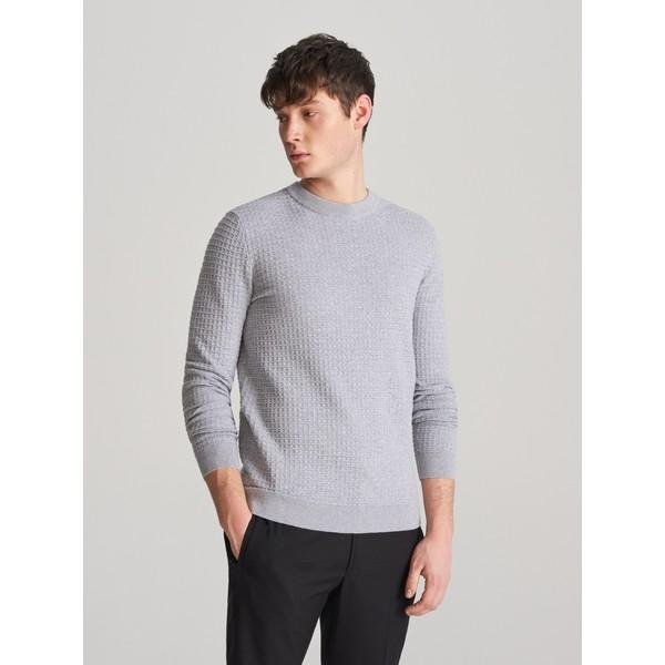 Reserved Sweter z bawełną oragniczną XK570-09M