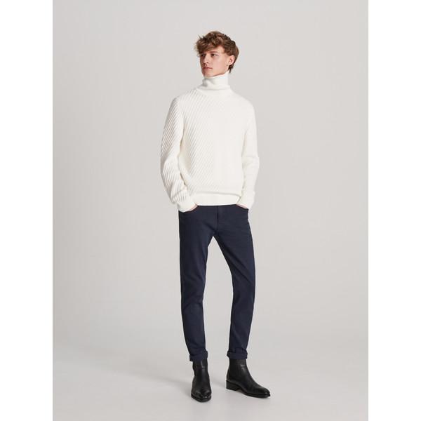 Reserved Spodnie z bawełny organicznej XL634-59X