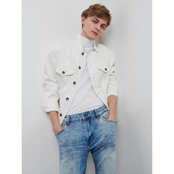 Reserved Spodnie jeansowe slim XZ638-50J