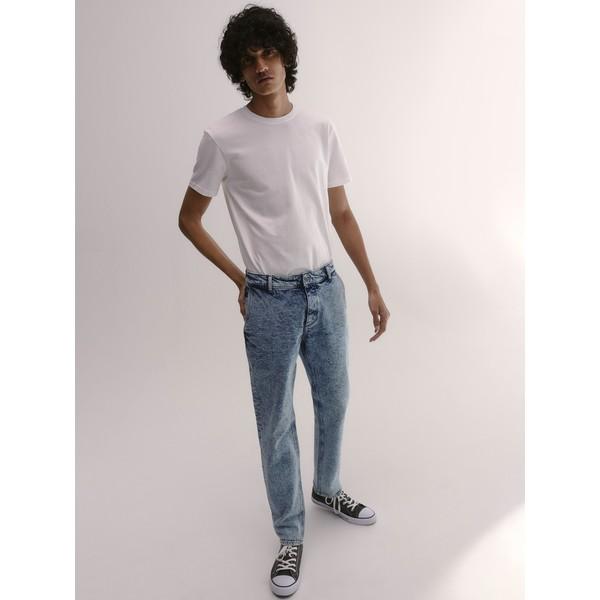 Reserved Spodnie jeansowe slim XN077-50J