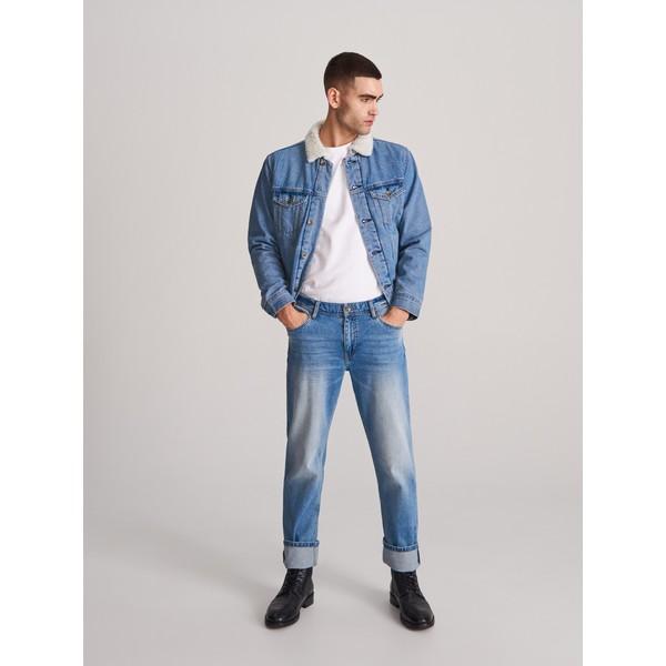 Reserved Spodnie jeansowe regular XJ152-55J