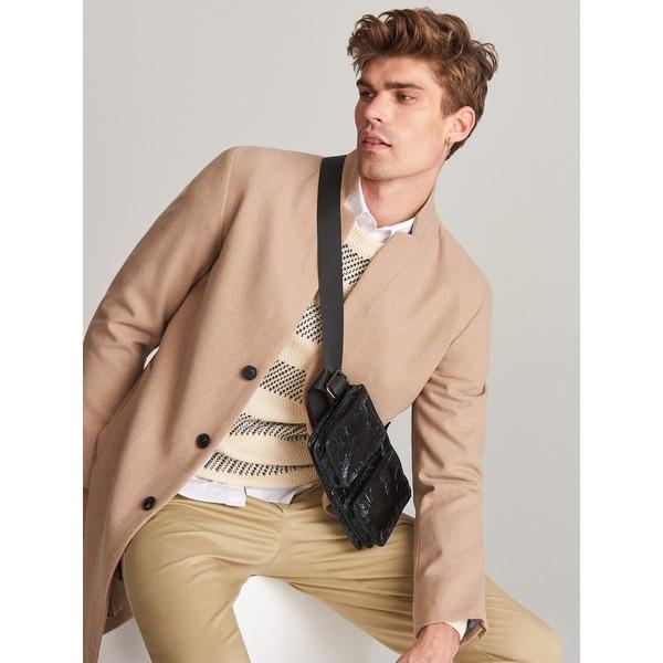 Reserved Bawełniany sweter w paski XK979-01X