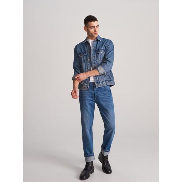 Reserved Spodnie jeansowe regular XJ152-59J