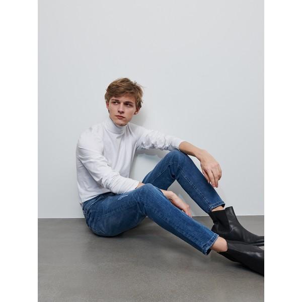 Reserved Spodnie jeansowe slim XZ638-55J