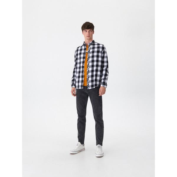 House Denimowe spodnie carrot VY908-99J