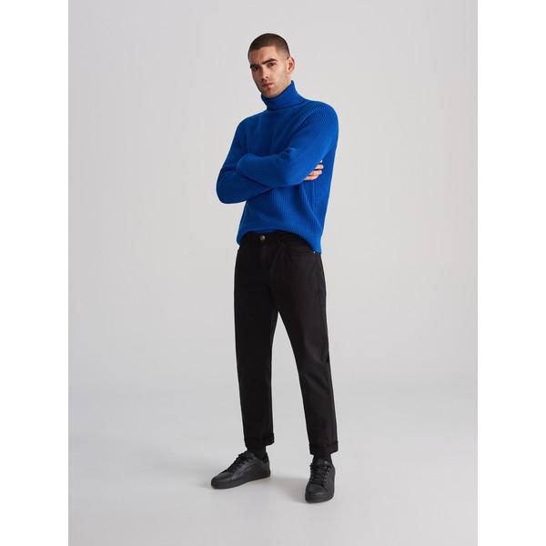 Reserved Bawełniane spodnie slim fit WK380-99X