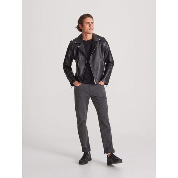 Reserved Bawełniane spodnie slim fit WK380-90X