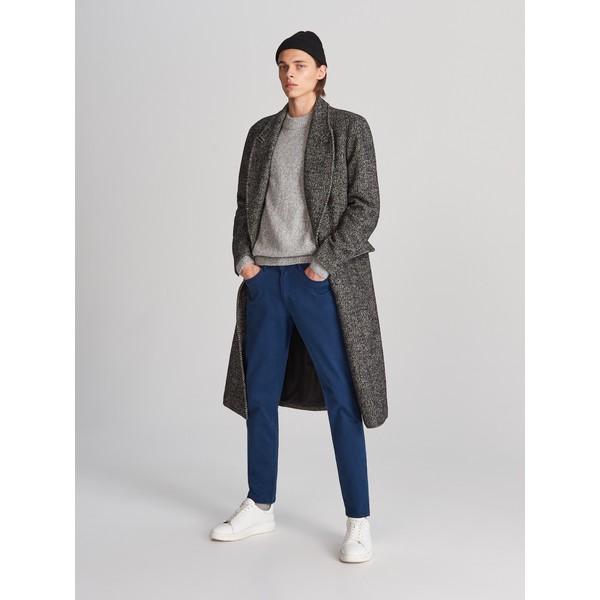 Reserved Bawełniane spodnie slim fit WK380-55X