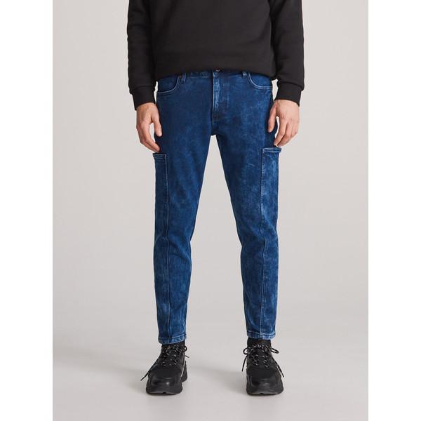 Reserved Spodnie jeansowe carrot XJ167-59J