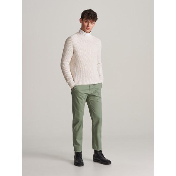 Reserved Bawełniane spodnie slim XL733-70X