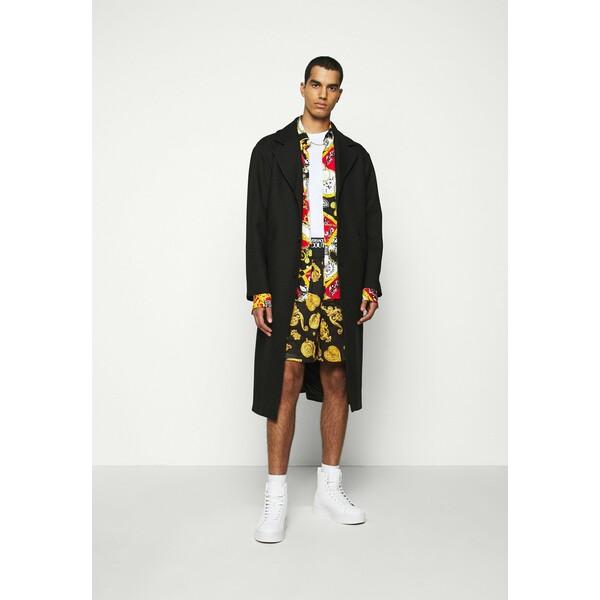 Versace Jeans Couture DIAGONAL COAT MIRO Płaszcz wełniany /Płaszcz klasyczny nero VEI22T00Z
