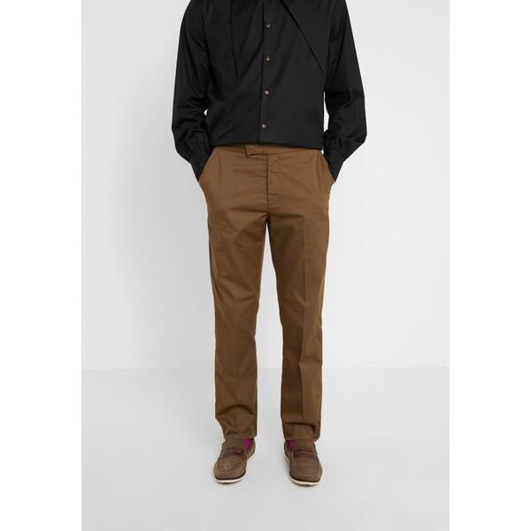 Vivienne Westwood Anglomania MENS TROUSERS Spodnie materiałowe beige VW622E007