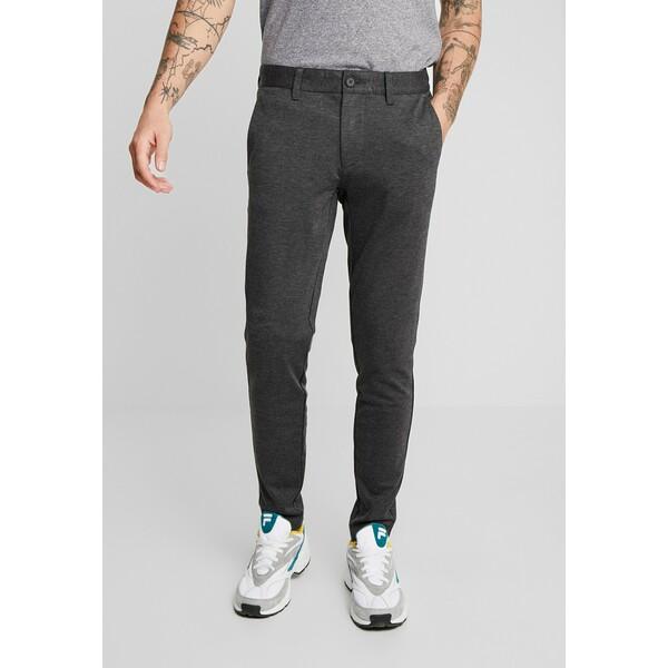 Only & Sons ONSMARK PANT Spodnie materiałowe dark grey melange OS322E04A