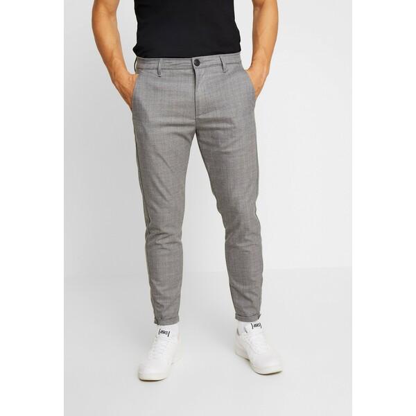 Gabba PISA CROSS Spodnie materiałowe light grey G5022E00X