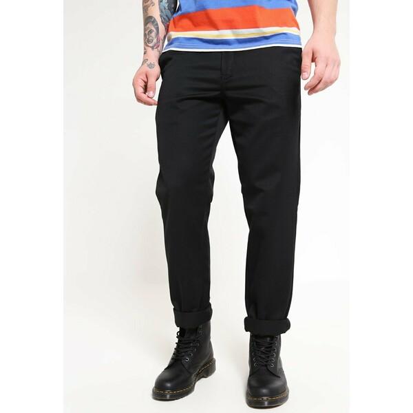 Carhartt WIP MASTER PANT DENISON Spodnie materiałowe black rinsed C1422E00R