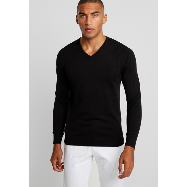 TOM TAILOR Sweter black TO222Q0FA