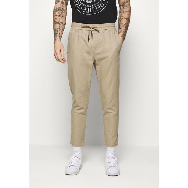 Only & Sons ONSLINUS CROP Spodnie materiałowe chinchilla OS322E07G