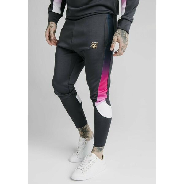SIKSILK Spodnie treningowe midnight grey SIF22E04M