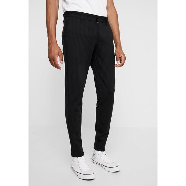 Only & Sons ONSMARK PANT STRIPE Spodnie materiałowe black OS322E070