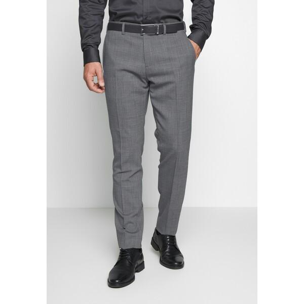 Tommy Hilfiger Tailored SLIM FIT FLEX PANT Spodnie garniturowe grey T1022E02U