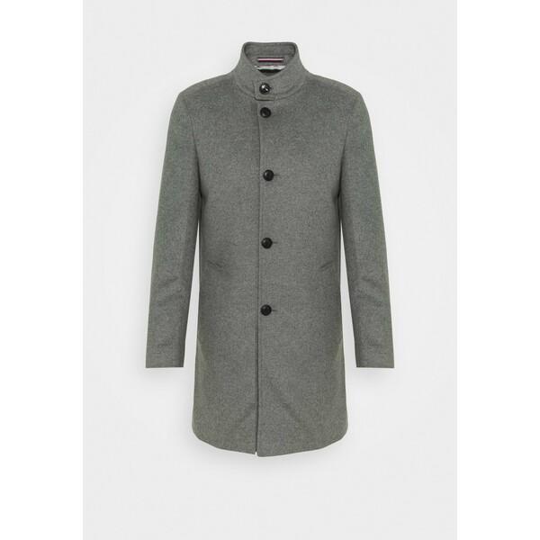 Tommy Hilfiger Tailored SOLID STAND UP COLLAR COAT Płaszcz wełniany /Płaszcz klasyczny grey T1022T016