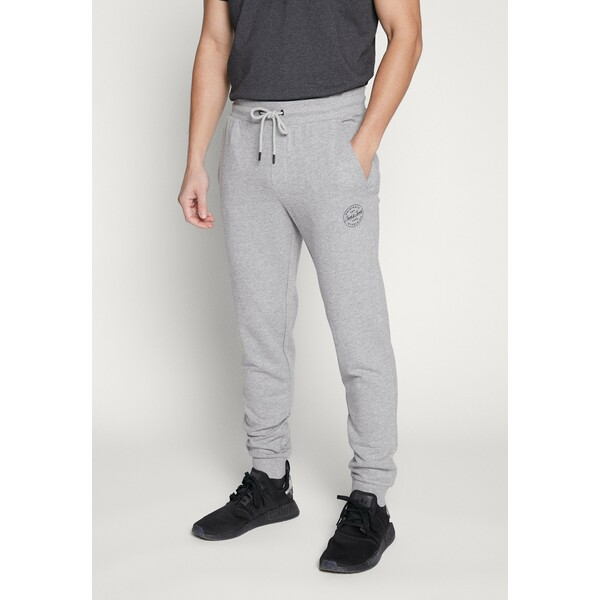 Jack & Jones JJIGORDON Spodnie treningowe light grey melange JA222E0KP