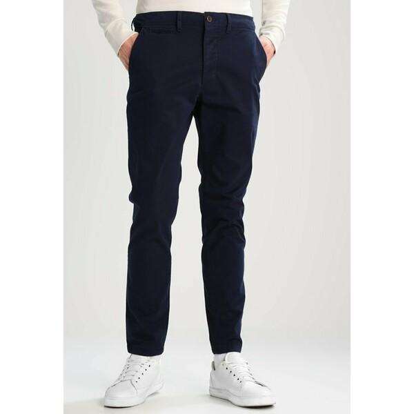 Jack & Jones JJIMARCO JJENZO Spodnie materiałowe navy blazer JA222E082