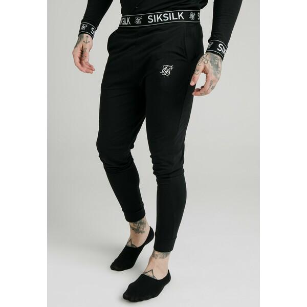 SIKSILK LOUNGE PANTS Spodnie treningowe black SIF22E03D