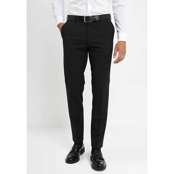Tommy Hilfiger Tailored Spodnie garniturowe black T1022A03V