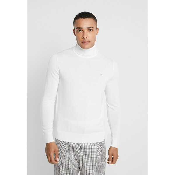 Calvin Klein Tailored Sweter white 6CA22Q01C