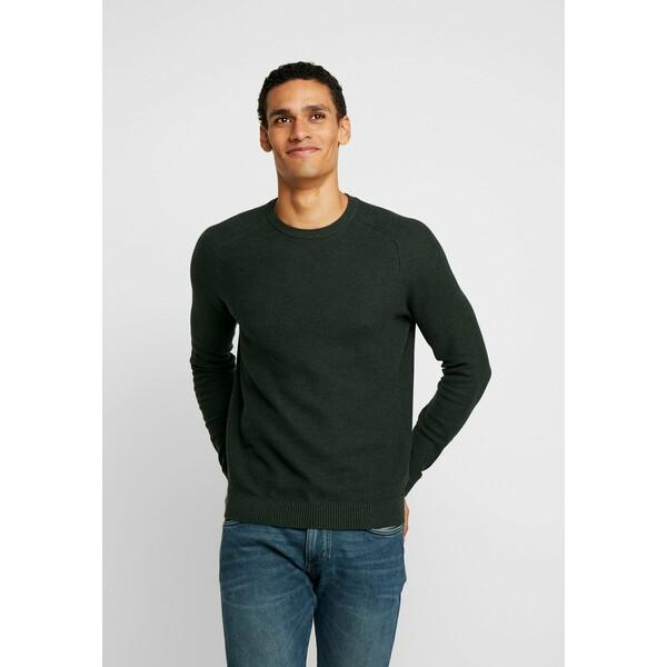 Esprit HONEYCOMB Sweter dark green ES122Q0BC