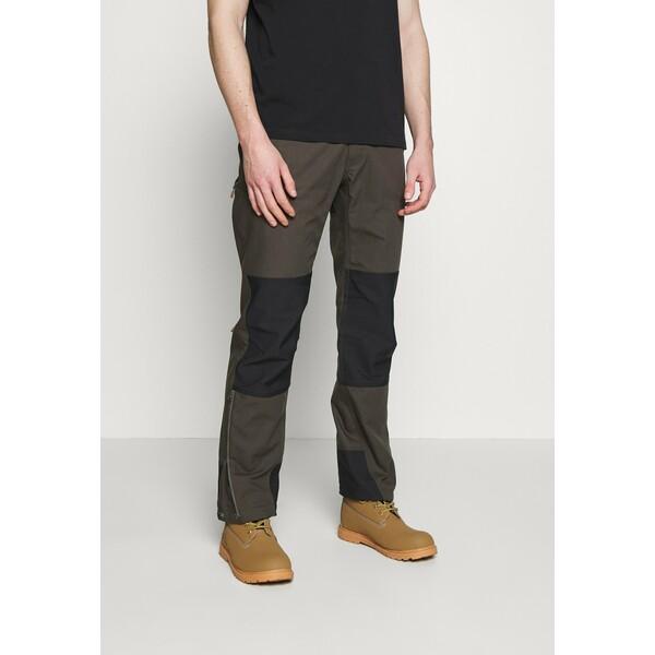 Norrøna SVALBARD HEAVY DUTY PANTS Długie spodnie trekkingowe slate grey NOO42E006