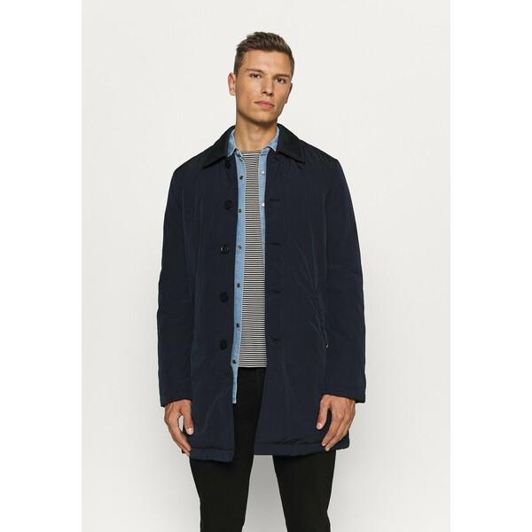 Tommy Hilfiger CARCOAT Klasyczny płaszcz blue TO122T068